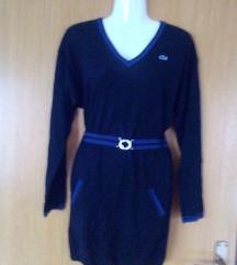 Novo!Original Lacoste zimska haljina tunika S