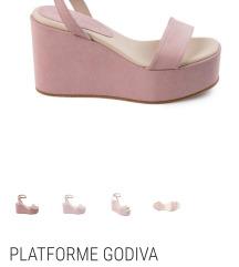 Guliver platforma sandale