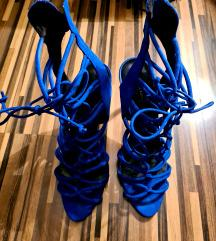 Zara kobalt sandale