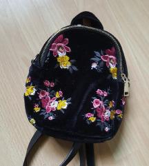Zara mini ruksak