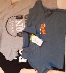 Lot tri majice za dječaka