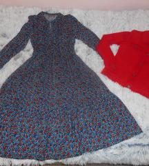 Look iz izloga haljina+jakna, Tisak uključen
