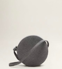 Mango okrugla kožna torbica