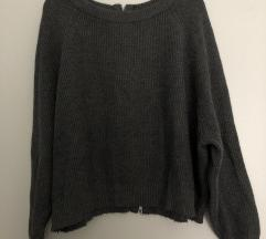 sivi džemper