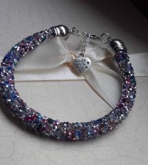Narukvica s mini kristalima