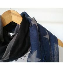 C&A velika marama tamnih boja