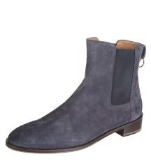 DOUCAL'S sive čizme od brušene kože