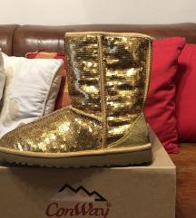 Ugg zlatne čizme, vel. 39