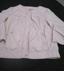 Pamučna svijetlo roza sportska jaknica