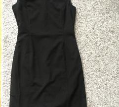 Crna midi haljina vel S/M