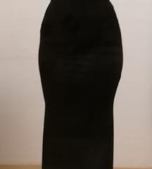 Nova crna duga haljina