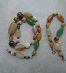 Vintage ogrlica i narukvica