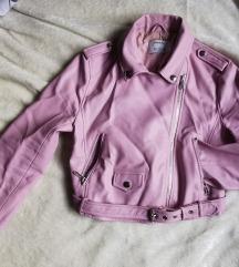 Bershka umjetna koža jakna