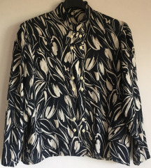 Svilena vintage bluza