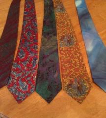 Muske svilene nove kravate original  8 komada