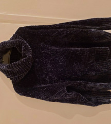 Amisu oversized čelično plavi pulover