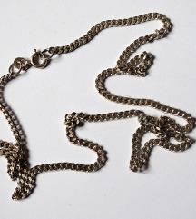 Masivan srebrni lančić 49 cm
