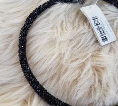 Nova Parfois crna ogrlica/narukvica