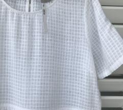 Asos NOVA s etiketom bijela pamučna haljina vel 42