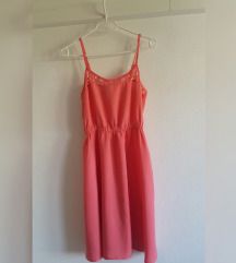 H&M haljina, 100% viskoza, jednom nošena