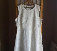 H&M bijela haljina