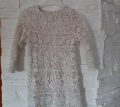 Mango heklana haljina , vel.104-110
