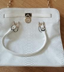 Bijela kroko torba