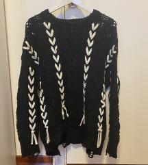 Zara crna vesta‼️ M