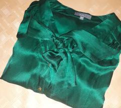 Dibari svilena bluza s mašnom