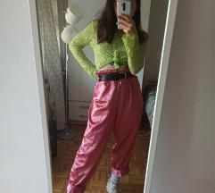 Silky roze hlače