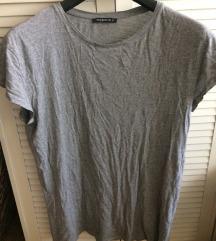 Terranova majica  siva basic