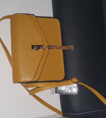 Novo oker torbica