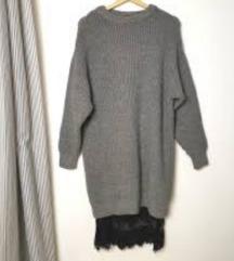 zara pletena haljina s cipkom - SAMO DANAS 80