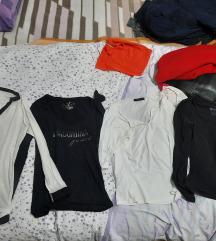 Pamučne majice crne i bijele