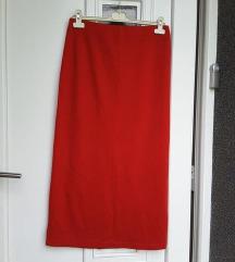 Duga, uska suknja, L