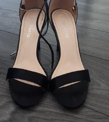 Crne sandale, broj 38