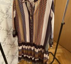 Patches print haljina s volanom