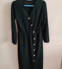 Nova zelena maksi haljina