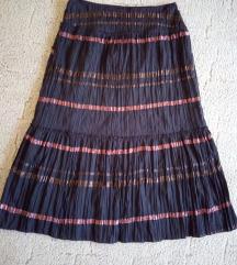 Dugačka suknja A kroja