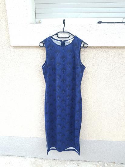 Novo ! Hm plava haljina