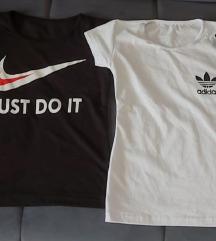 Nike i Adidas majice