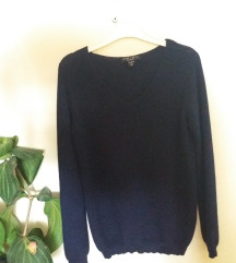 Amisu tamno plavi pulover