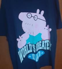 Majica crna Peppa Pig  br.48/50