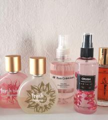 Lot parfema+2 body mista