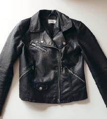 ONLY crna kožna jakna / POŠTARINA U CIJENI