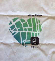 Eko taksi platnena nova torba