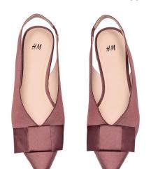 H&M cipele od satena
