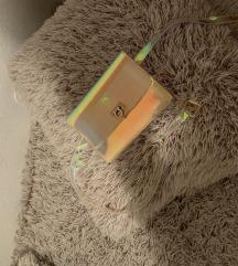 Fluorescentna torbica like Zara