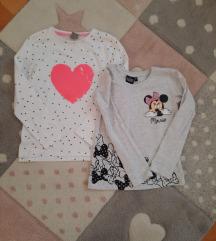 Dvije majice za curice