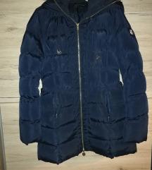 Tamnoplava zimska jakna